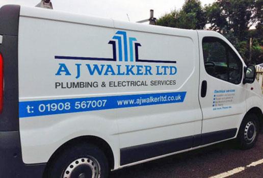 AJ Walker Van